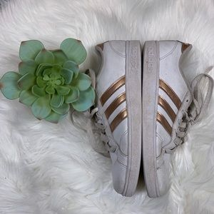 Adidas Superstar Rose Gold Size 3 Youth